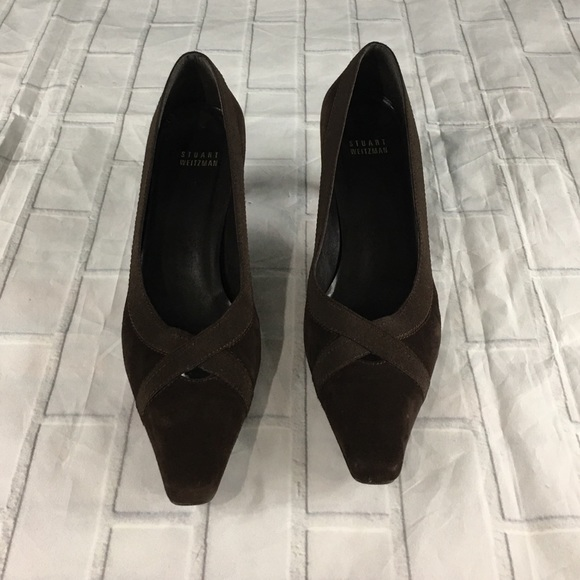 833b1353eb3e8 Stuart Weitzman Shoes | Suede Pumps Womens Size 85 | Poshmark